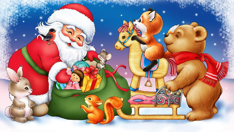 Картинки с дедом морозом новый год