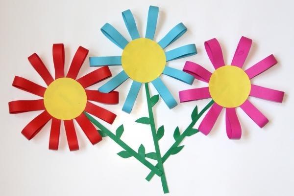 Аппликации из цветной бумаги своими руками для детей 6 лет